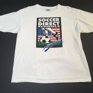 Vintage 90s Soccer Direct Schools Adidas Kick Gift